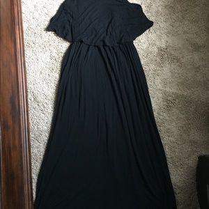 Apt. 9 Dresses - Apt 9 kohl's maxi dress black size medium